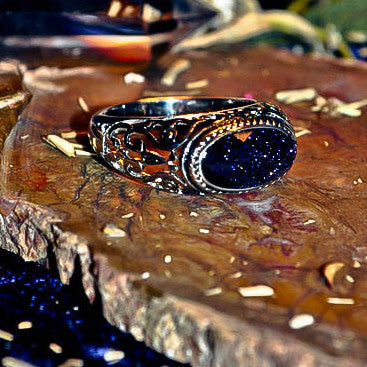 ASTRAL TIME TRAVEL Metaphysical Psychic Projection Premonition Galaxy Beaming Haunted Wiccan Pagan Spell Ring