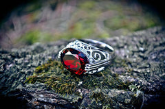FORTUNA Genie Haunted Goddess Djinnya Druid Alchemy Genie Ring ~ Spiritual Workings, Divination, Wealth + Wishes! White Light $$$