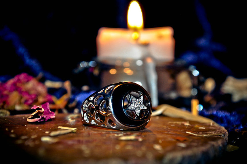 SAMHAIN MOON MAGICK Ring of the Ancients! Power & Prophecy! Haunted Metaphysical Pagan Sacred Prophecy Psychic Ability