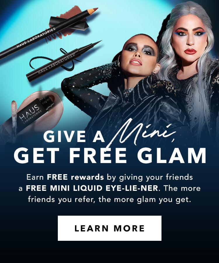 GIVE A MINI, GET FREE GLAM. Learn More