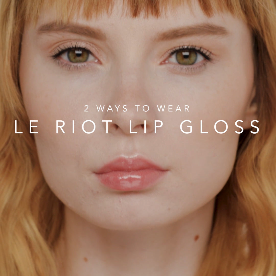 LE RIOT LIP GLOSS HOLIDAY SET video thumbnail