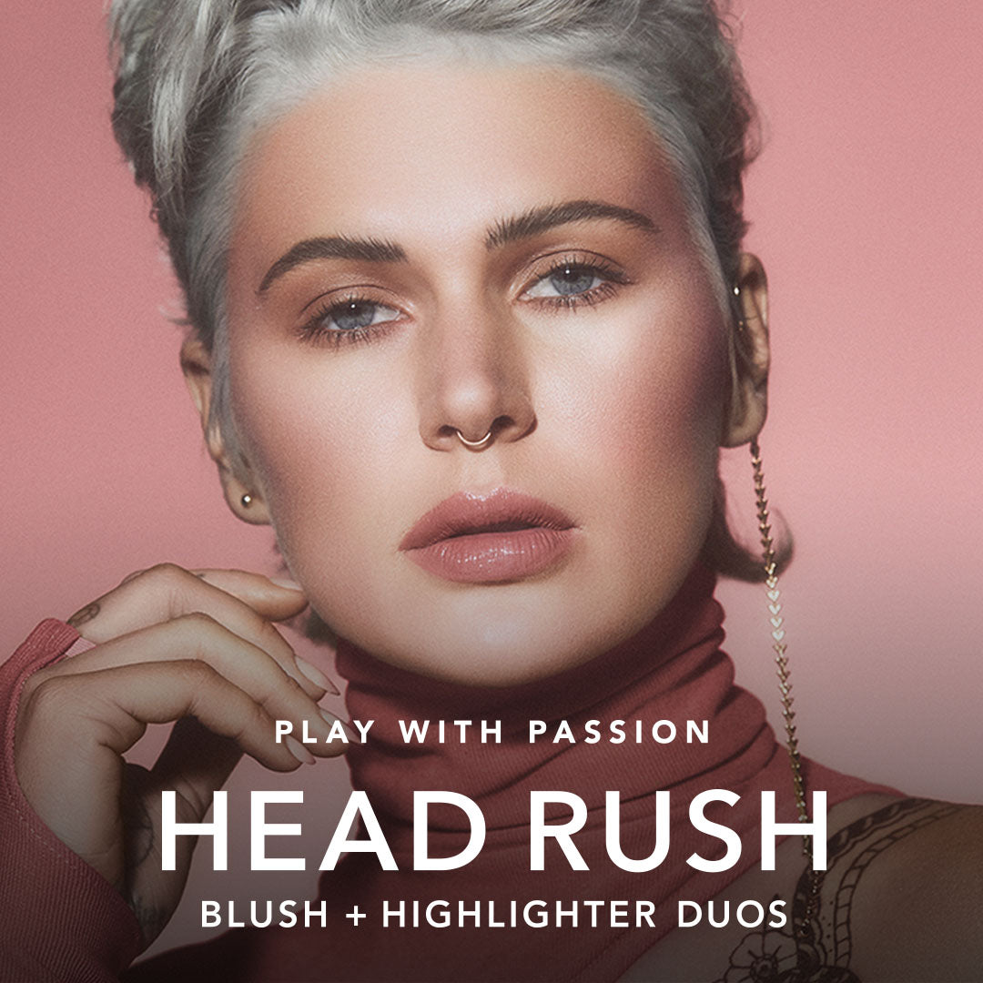HEAD RUSH BLUSH + HIGHLIGHTER DUO video thumbnail