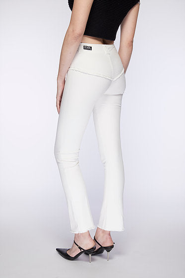 Rodeo Jean. Silky White.