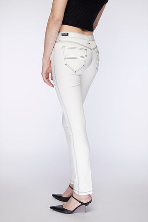 Ace Jean. Silky White.