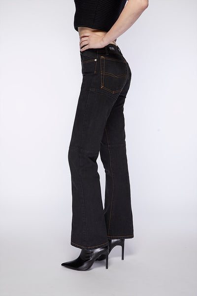 Monterey Jean. Dusty Black.