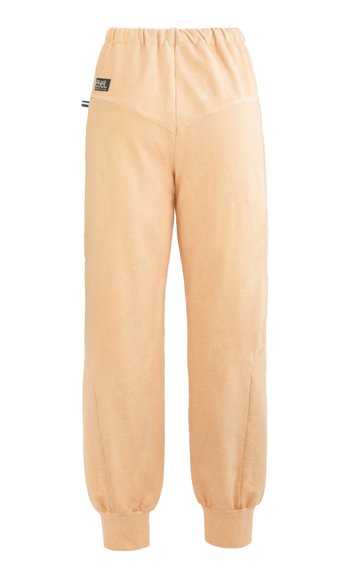 Intersection Track Pants. Apricot