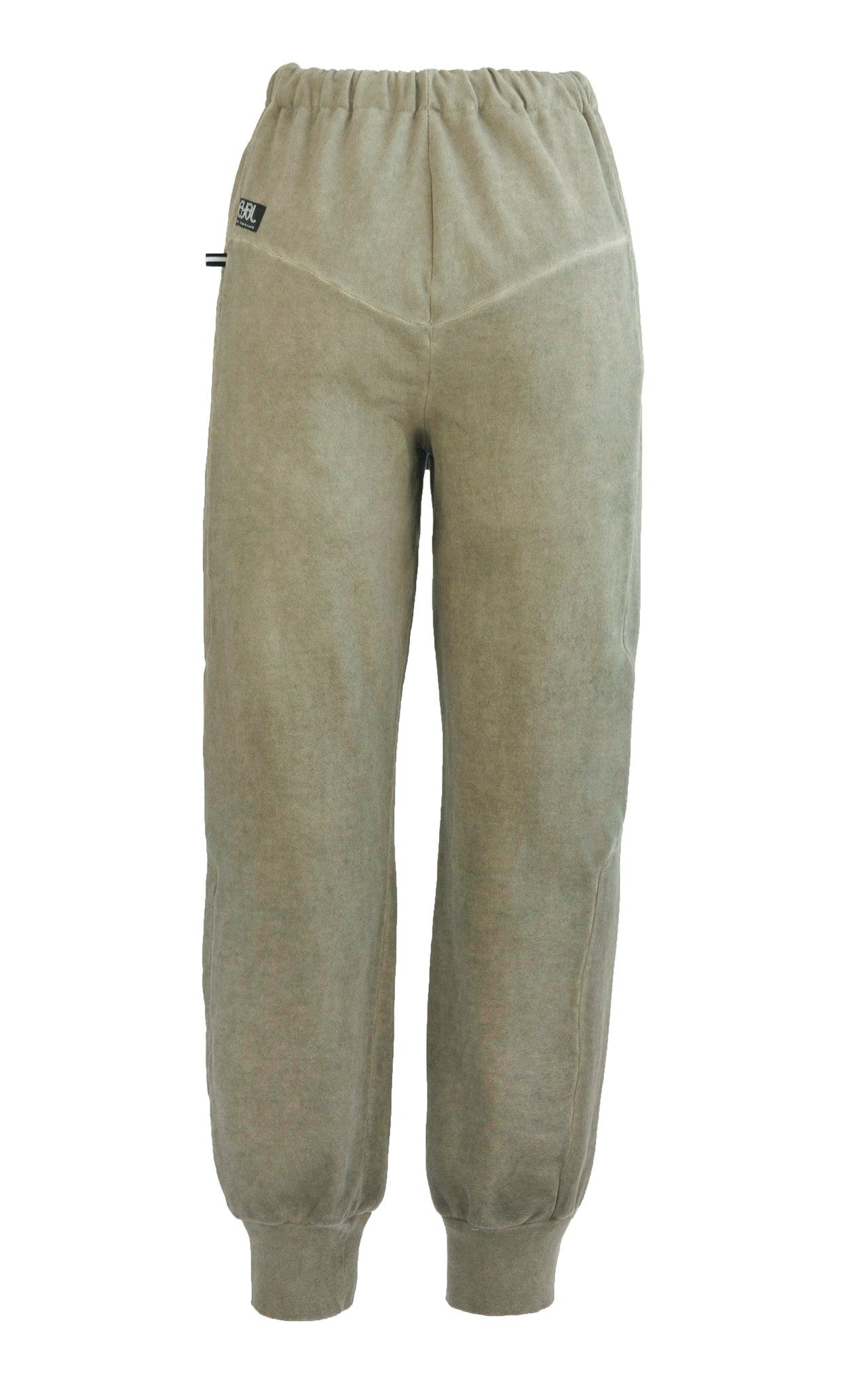 Intersection Track Pants. Kahki Green