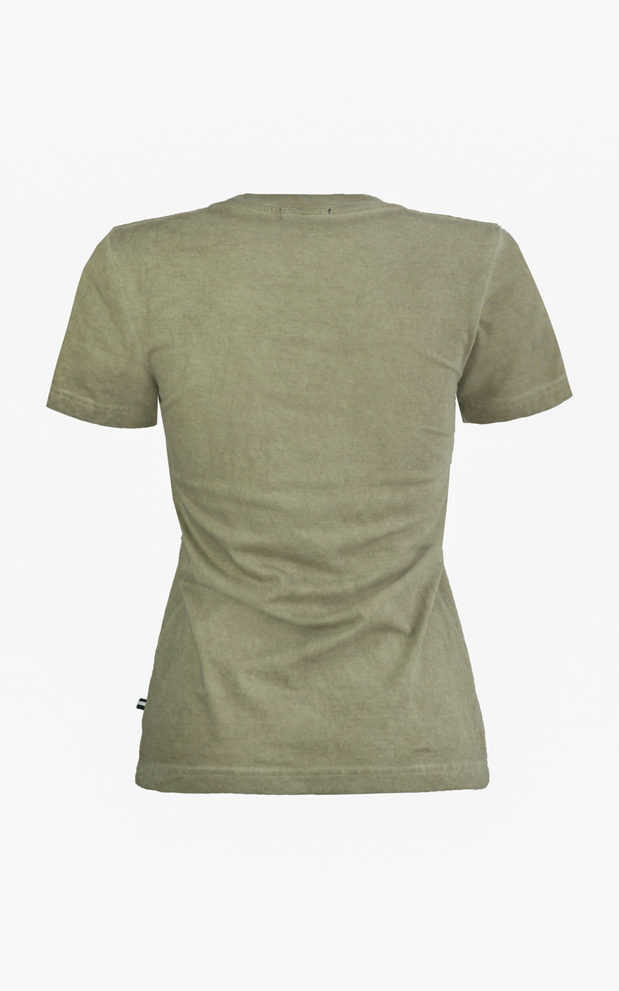 Brooklyn T Shirt. Khaki Green