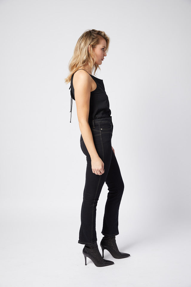 Stardom Jean. Stretch. Ink Black