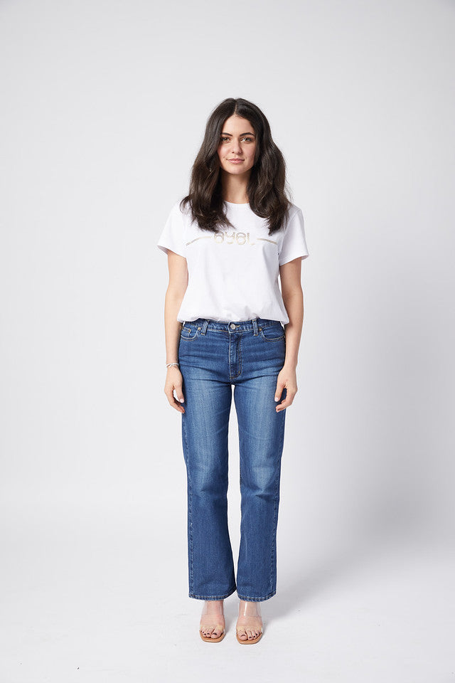 Perry Jean. Rigid. Straight Leg. Vintage Wash