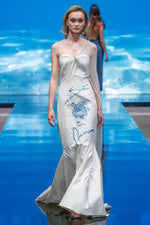 LONG DRESS SAVE THE OCEAN