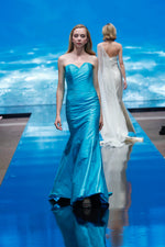 BLUE OCEAN LONG DRESS