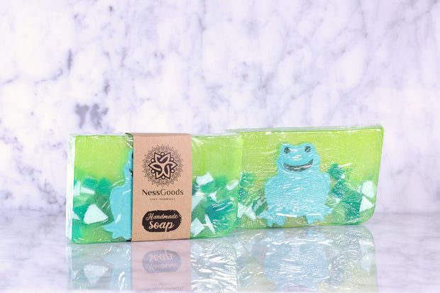 Bar Soap 5.8 oz - Green Frog