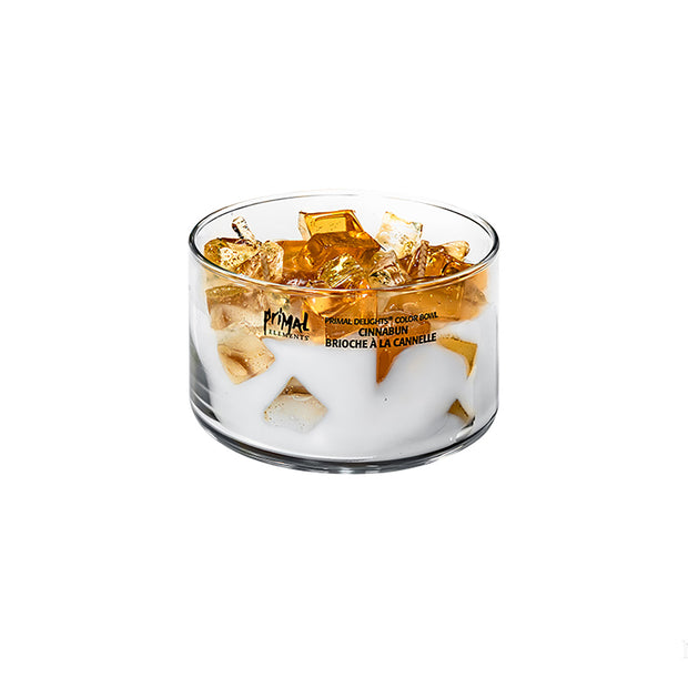 Two-Wick Color Bowl Candle