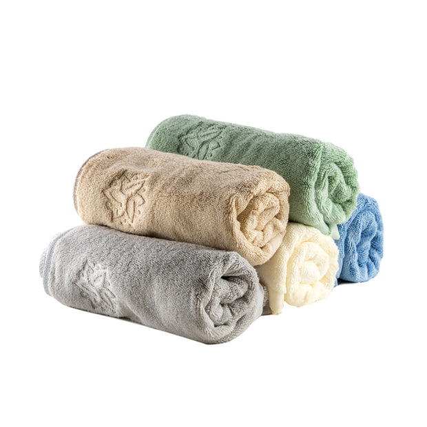 NessGoods Bamboo Fiber Home Washcloth 5 Pack