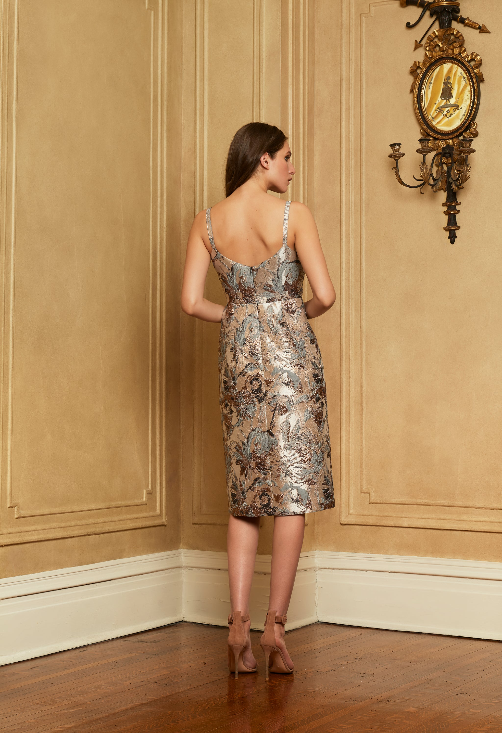 The Lady Effie Dress | Brocade
