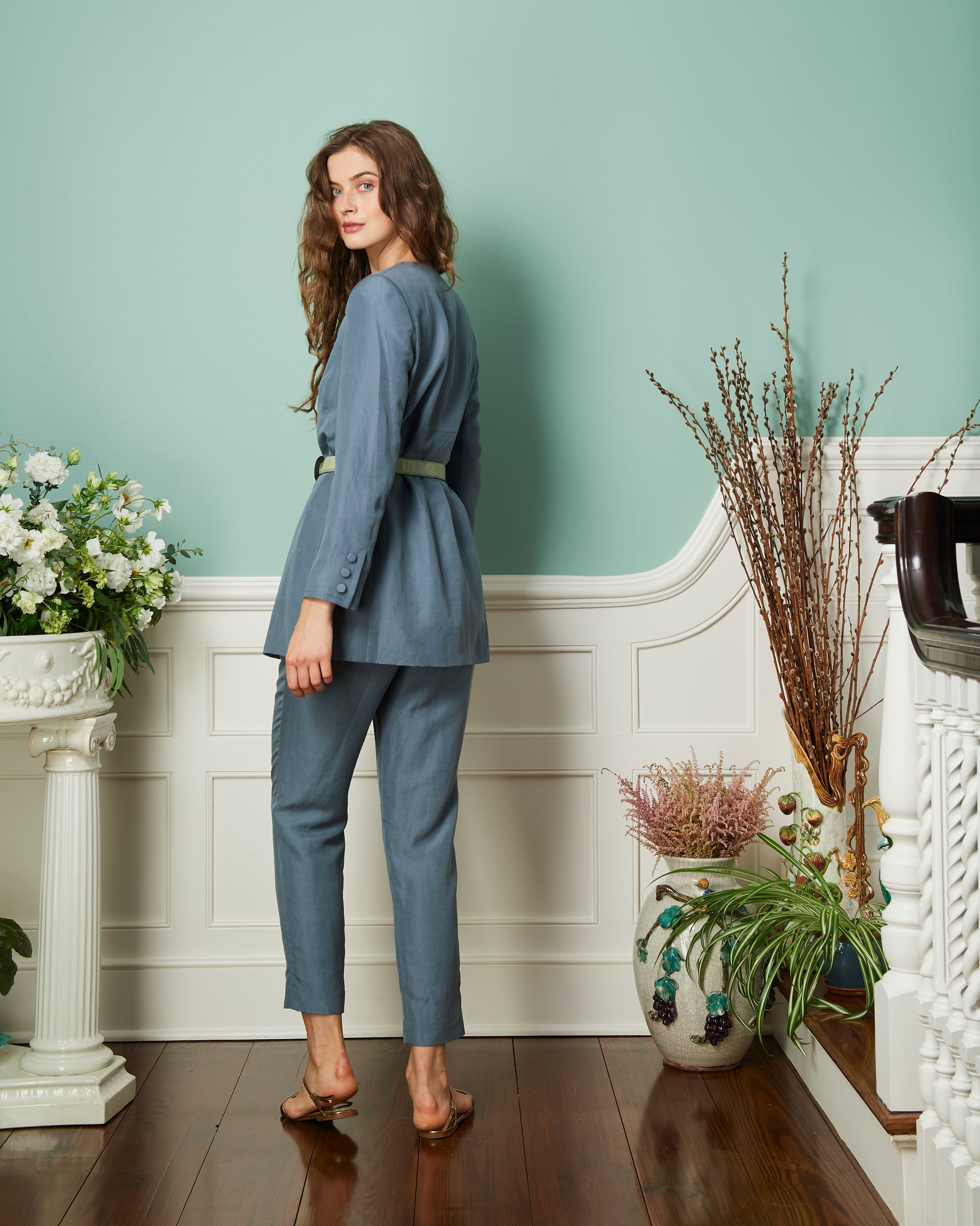 The Will Pant | Slate Blue