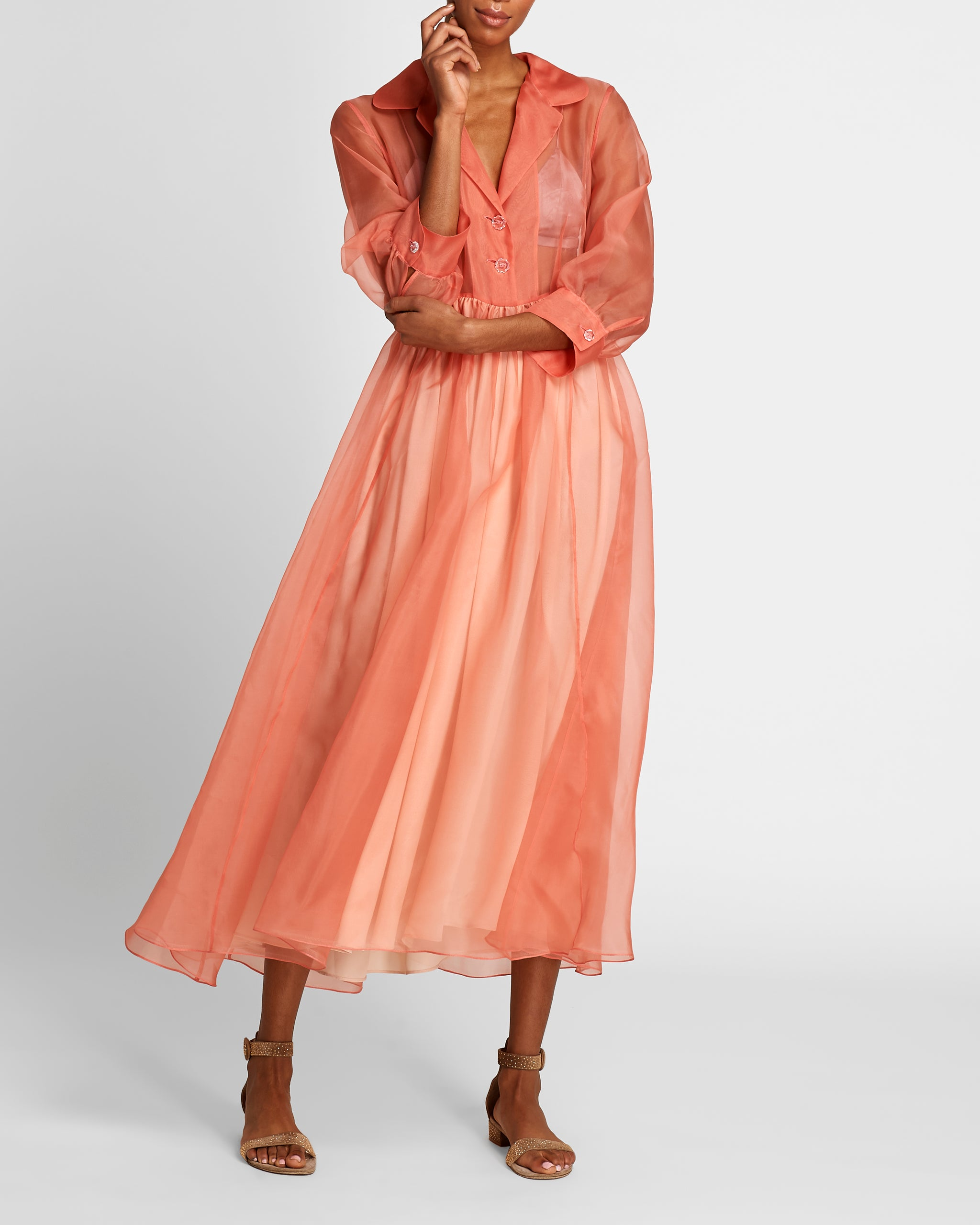 The Grace Dress | Coral