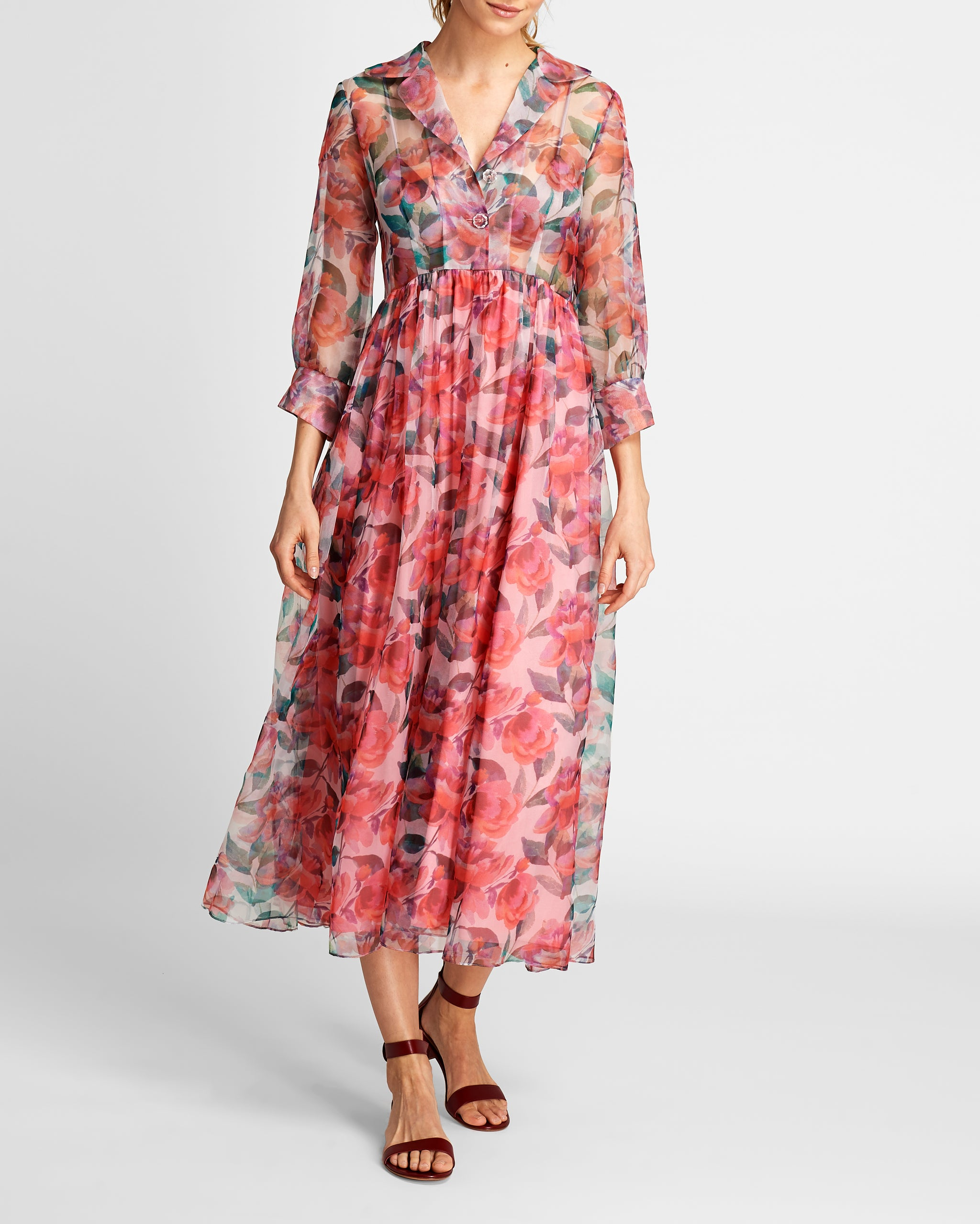 The Grace Dress | Garden Party Print