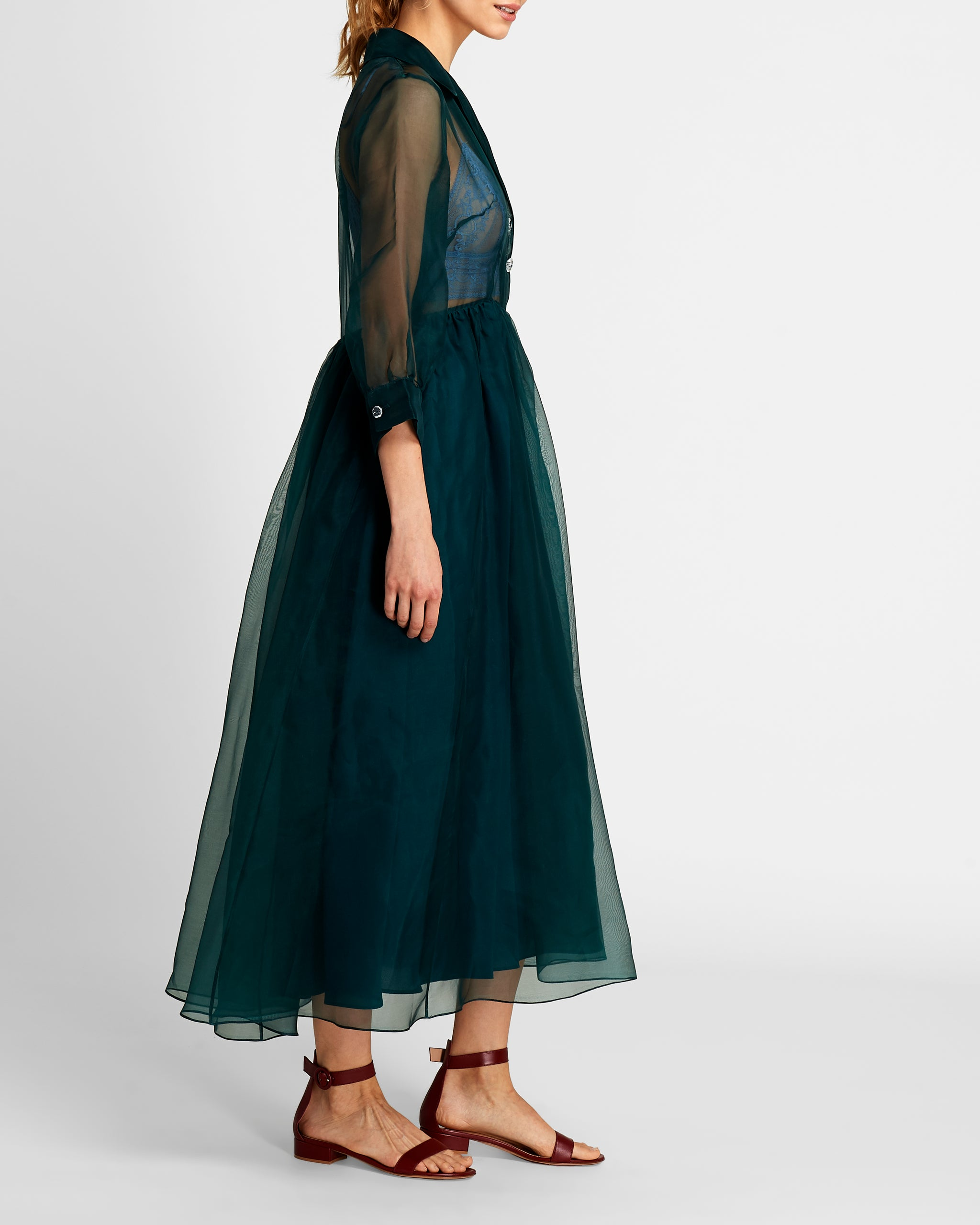 The Grace Dress | Marine Green