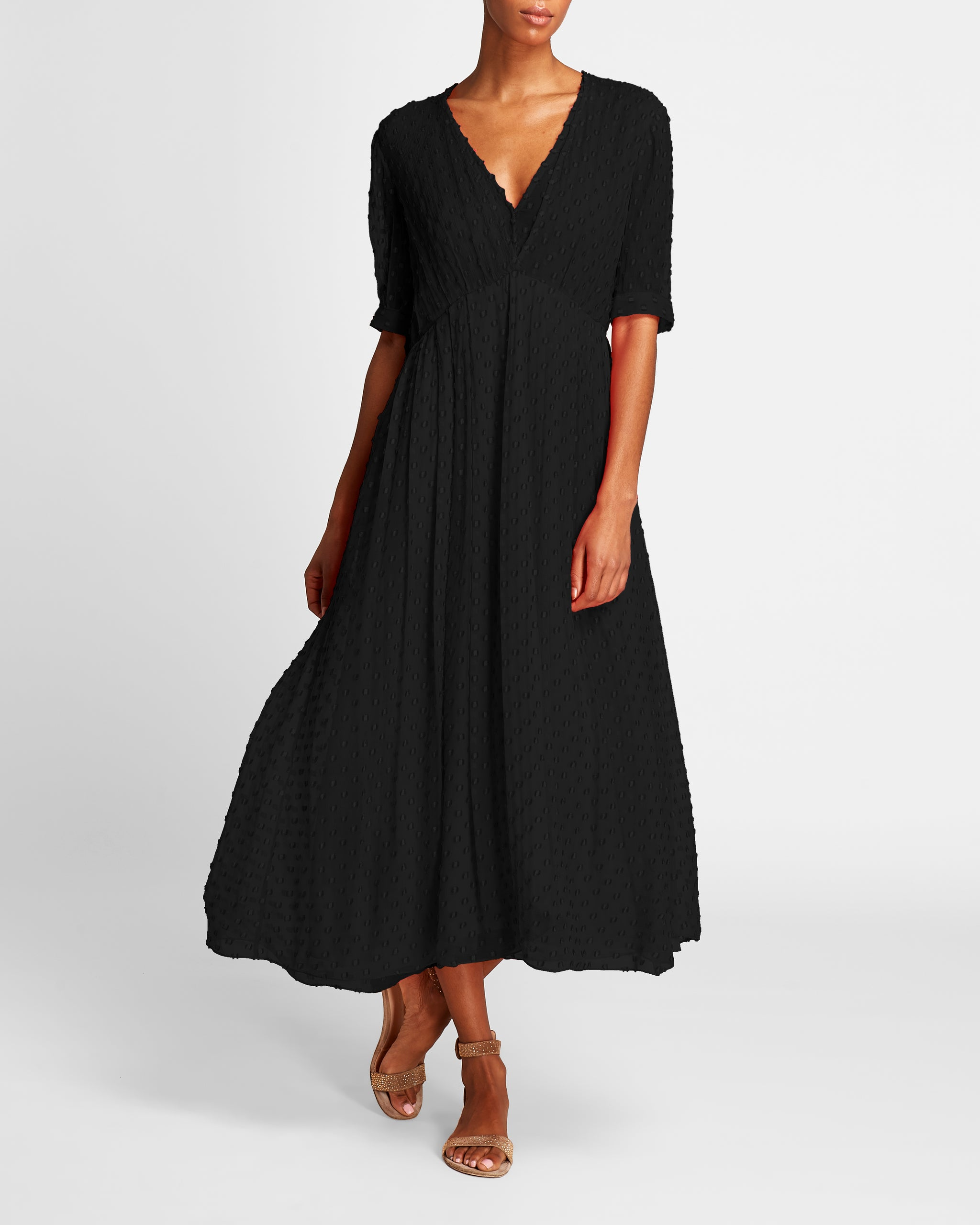 The Ivy Dress | Black
