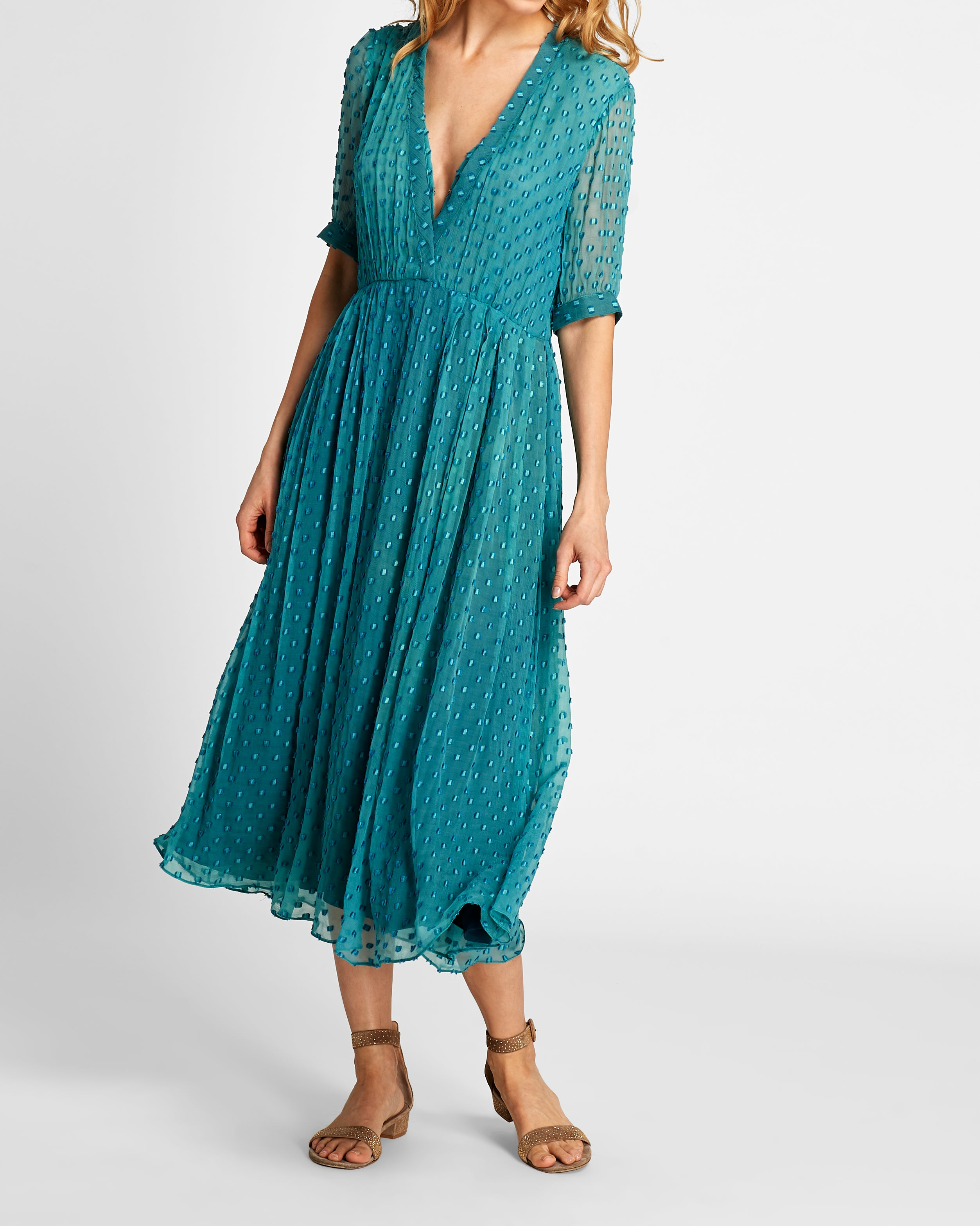 The Ivy Dress | Azure