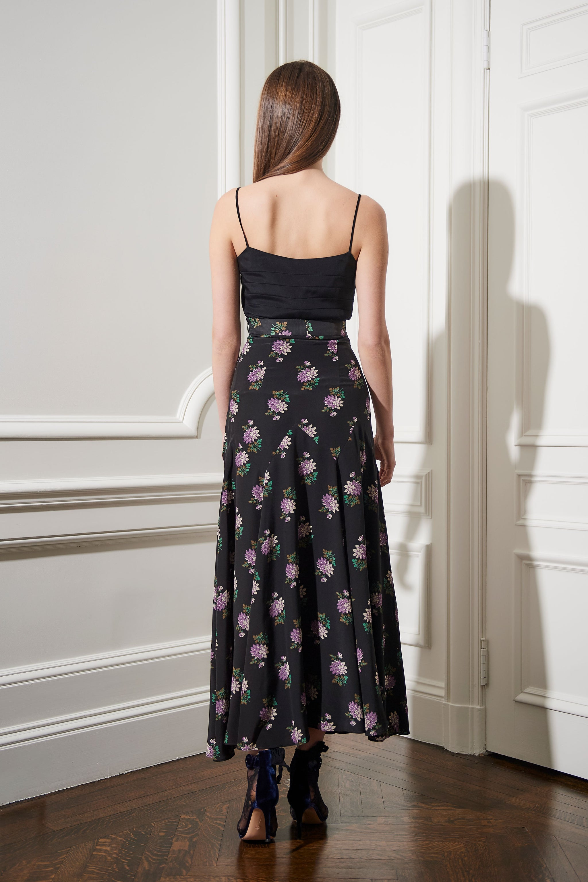 The Lila Skirt | Violet Blossom