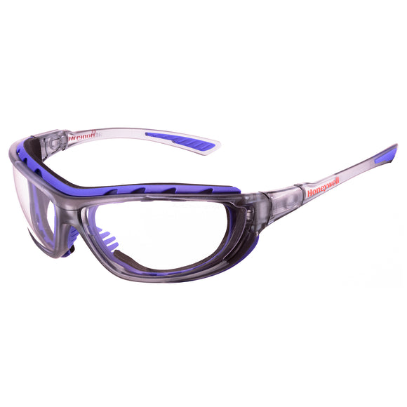 Honeywell Safety Glasses SP1000 2G, Black Frame, Clear Lens