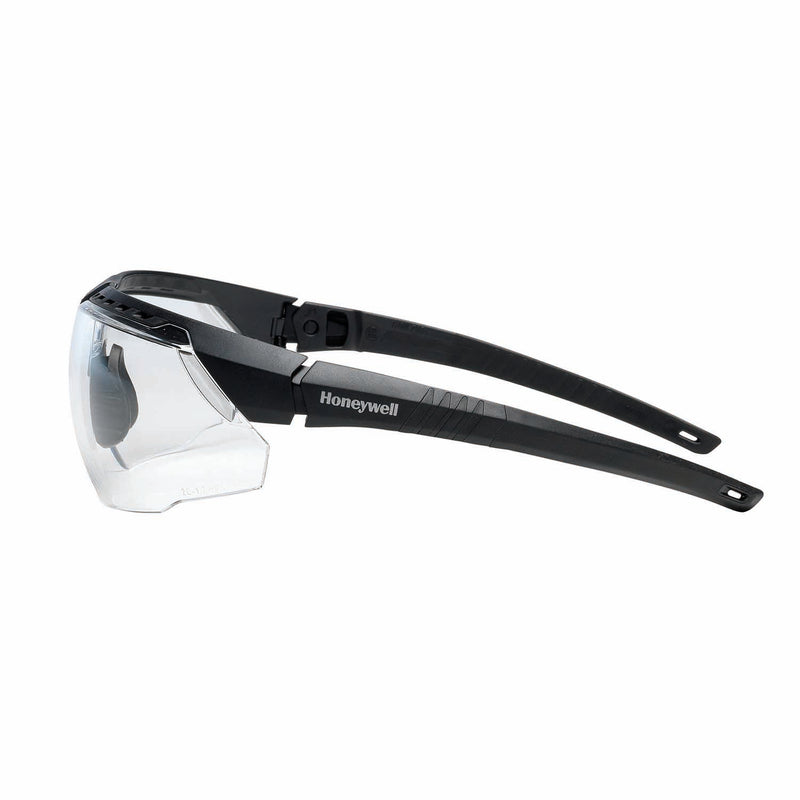 Honeywell 1034831 AVATAR Safety Glasses Black Frame Clear Lens