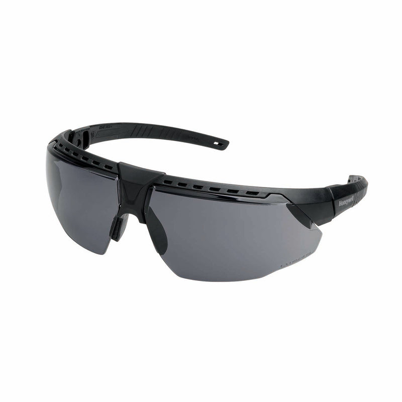 Honeywell AVATAR Safety Glasses Black Frame Grey Lens