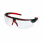 Safety glasses Honeywell avatar black red frame clear lens