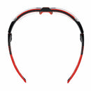 safety spectacles Honeywell avatar clear lens black red frame