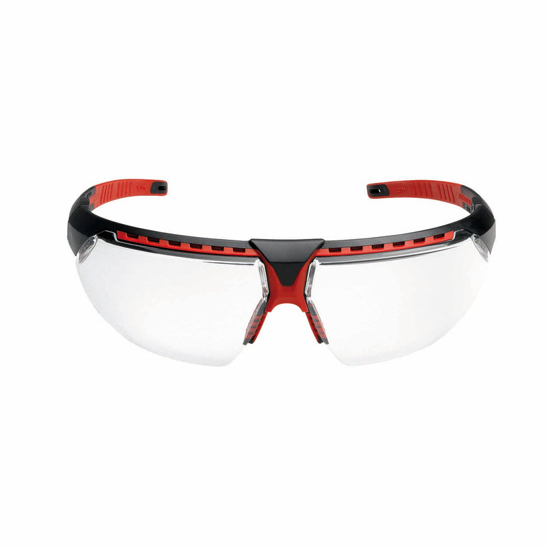 Honeywell avatar safety spectacles clear lens black red frame