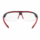avatar Honeywell  safety spectacles clear lens black red frame