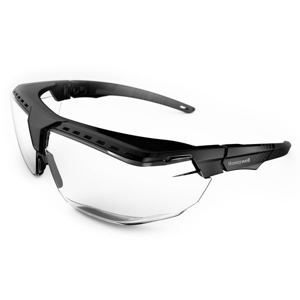 Honeywell  1035810 Avatar OTG Black Frame Clear Lens Anti-Scratch Coating