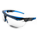 Honeywell Avatar OTG Black & Blue Frame Clear Lens Anti-Scratch & Anti-Reflective Coating