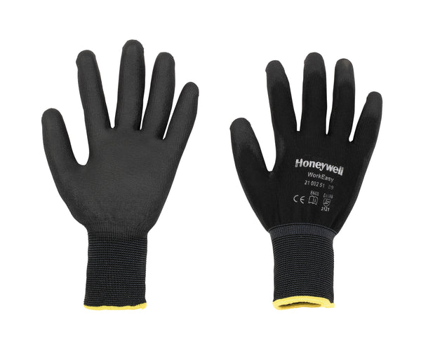 Honeywell Workeasy Black PU Work Gloves (Pair)