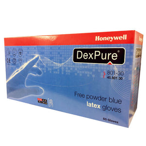 Honeywell DexPure 801-30 Free Powder Blue Latex Glove