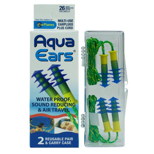 Aqua Ears Multi-use Earplugs cirrus healthcare