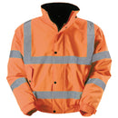 Blackrock Hi-Vis Bomber Jacket - Orange