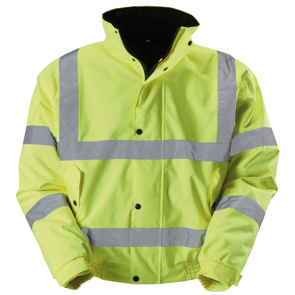 Blackrock Hi-Vis Bomber Jacket - Yellow