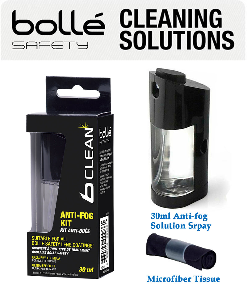 Bolle B-CLEAN Anti-Fog Solutions Kit