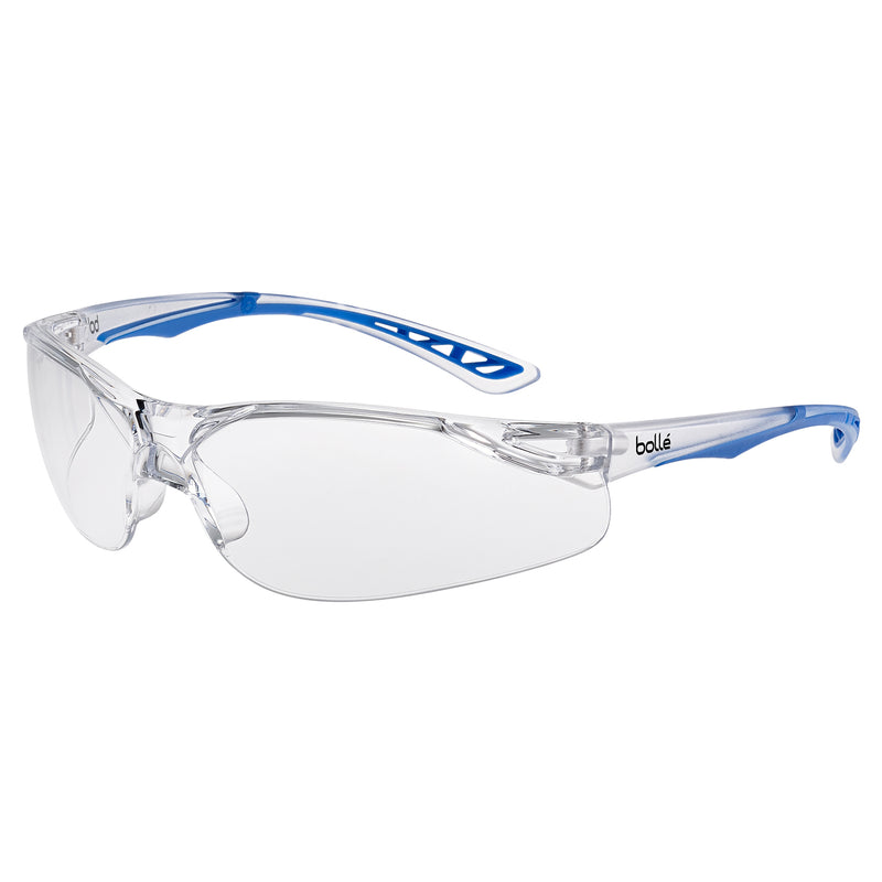 Bolle ILUKA ILUPSI Safety Glasses Clear Lens