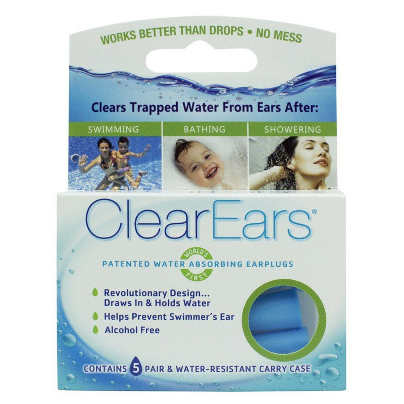 Cirrus Healthcare ClearEars Water Absorbing Ear Plugs 2
