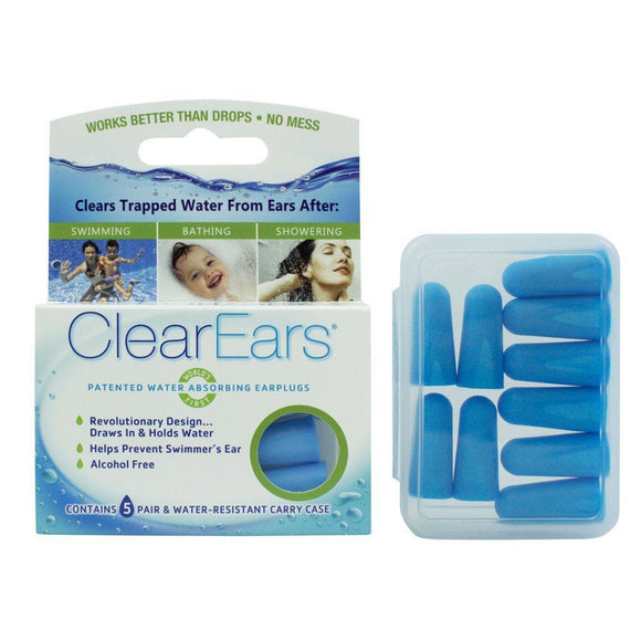 Cirrus Healthcare ClearEars Water Absorbing Ear Plugs 1