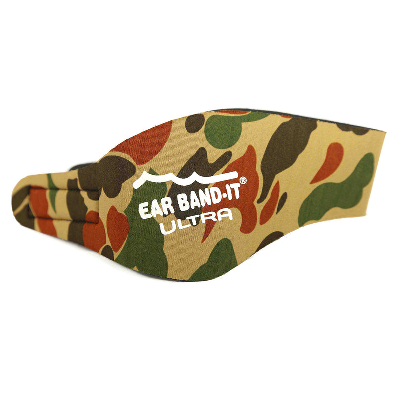 Ear Band-It Ultra Swimmer's Headband - Camo