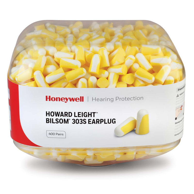 Honeywell Howard Leight Bilsom 303S Earplug Refill Canister for HL400 Dispenser 400 pairs