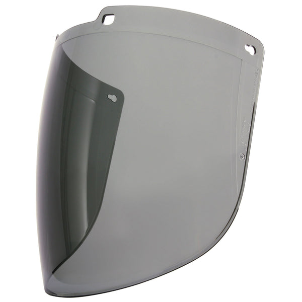 Honeywell 1031745 Turboshield Gray Polycarbonate Uncoated Visor