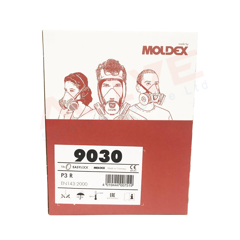 Moldex 9030 - P3 R Particulate Easylock Filter Box1