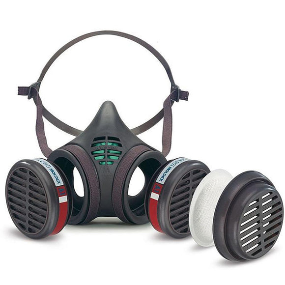 Moldex 8172 -  8000 Series A1 & P2 RD Medium Size Reusable Half Mask